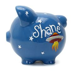 Get your son or daughter a personalized #ChildToCherish piggy bank for only $7.50!