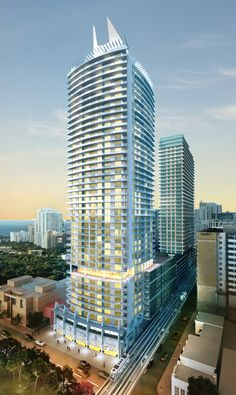 In typical style, the Pininfarina Group chaired by Paolo Pininfarina has created a luxury residence that has both style and flair in the 1100 Millecento, located in the prestigious neighborhood of Brickell of Miami.