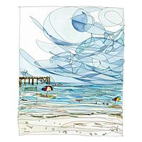 BEACHSIDE - RENEE LEONE UncommonGoods- can't decide which of hers is my favorite