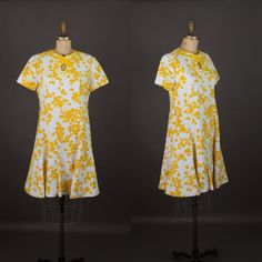 Vintage 1960s Leslie Fay dress by StopTheClock on Etsy