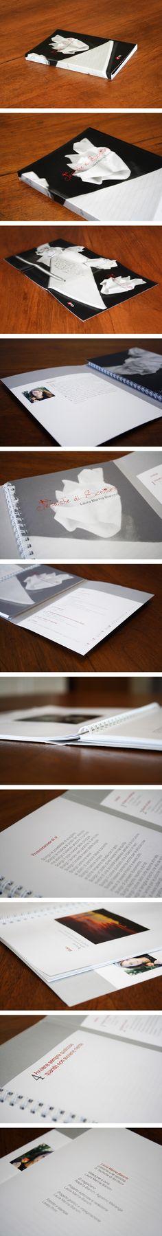 BOOK - Tecniche di scrittura impaginazione - raccolta - poesie - haiku - print design - libro - indice - graphic design