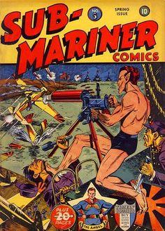 Sub-Mariner Comics #5 (Golden Age)