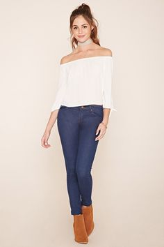 Skinny Ankle Jeans | Forever 21 - 2000058468