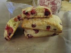 The Best Cranberry Scones – Cooking with LOVE!