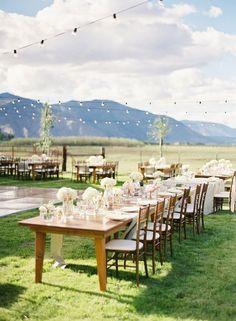 beautiful backyard wedding undividedfocus