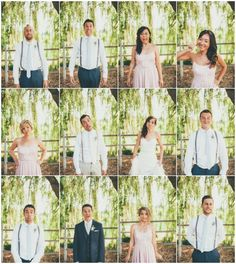 Hilarious funny faces of Bridal Party during Winery Wedding \ Joelsview Photography