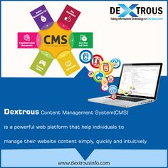 Dextrous Content Management System (CMS) is a powerful web platform that help individuals to manage their website content simply, quickly and intuitively. Web Platform, Ecommerce, Web Design, Management, Content, Website, Design Web, E Commerce, Website Designs