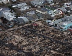 Hurricane Sandy destroys Breezy Point, Queens - NY Daily News