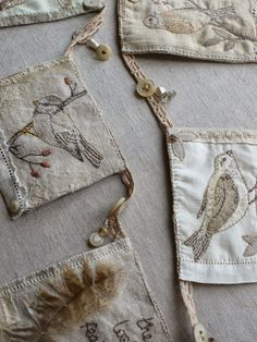 gentlework: bird bunting