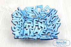 Makin's Clay® Blog: Alphabet Soup Bowl by Iris Rodriguez
