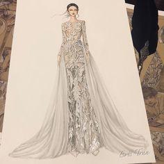 New wedding dress 2020 Fashion sketches wedding art 50 Ideas - Fashion Design Sketchbook, Fashion Design Drawings, Fashion Sketches, Fashion Drawing Dresses, Fashion Illustration Dresses, Fashion Dresses, Drawing Fashion, Fashion Week, Trendy Fashion