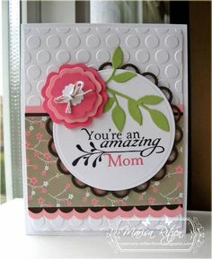 You're an Amazing Mom card