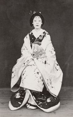 Woman in formal kimono.  1870's, Japan.    Smithsonian Institution, Freer Gallery of Art and Arthur M. Sackler Gallery Archives