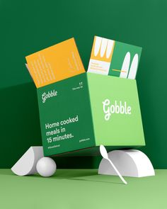 health design Gobble Packaging via Scott Snyder Photography Branding amp; Packaging Design by Studio Mast Brand Packaging, Packaging Design, Branding Design, Ecommerce Packaging, Toy Packaging, Coffee Packaging, Bottle Packaging, Pretty Packaging, Product Packaging