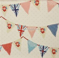Viewing Bunting blue by Fryetts by Stock Fabric Clearance