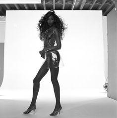 Ebony mature standing upskirt