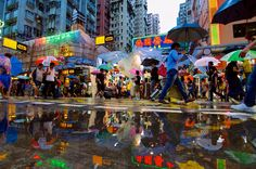 Hong Kong has a vibrant street life scene, rain or shine! Vivid Market by Jan Bernert on 500px