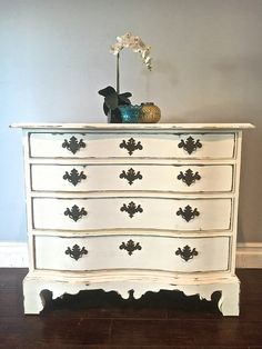 White Gold Dresser Set 1 400 Sold Uproar Decor Upcycled Furniture Pinterest Sets And