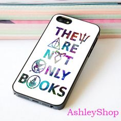 They Are Not Books HP Custom Case For iPhone 4/4s/5s/5c/6/6+/S3/S4/S5/S6 - Default iPhone 5/5s Case