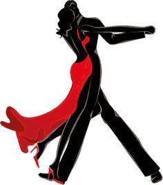 dreamies.de (pawzt52ji05.gif) Arte Black, Black Art, Dancing Drawings, Art Drawings, Tango Art, Wilson Art, Art Deco Posters, Silhouette Art, Dance Pictures