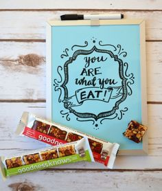 You Are What You Eat {Hand Lettering Tutorial} - One Artsy Mama