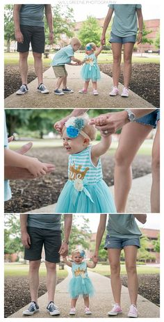 Leighton's one year session and cake smash, ECU, Greenville NC, Will Greene Photography