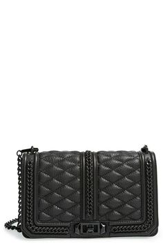 Rebecca Minkoff 'Love' Crossbody Bag in Chains available at #Nordstrom