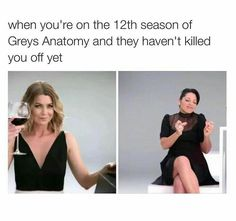 For every LOL moment you've ever had about Shonda Rhimes' Grey's Anatomy! Remember Cristina Yang's eyebrows for her wedding? Greys Anatomy Funny, Greys Anatomy Cast, Grey Anatomy Quotes, Greys Anatomy Season 8, Greys Anatomy Callie, Anatomy Humor, Greys Anatomy Scrubs, Dries Van Noten, Dark And Twisty