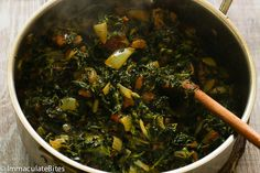 Stewed Spinach (African Style)