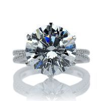 Royal Prong Round Solitaire Microset- Yes Please!!!