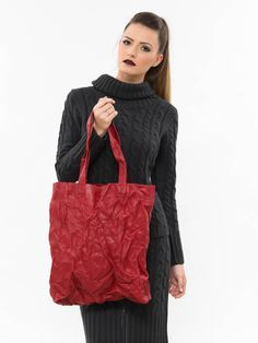 Excited to share the latest addition to my #etsy shop: Red leather handbag, Work bag, Leather tote bag, Ladies leather bag, Minimalist leather purse, Laptop women bag, Everyday leather tote http://etsy.me/2nELPDo #bagsandpurses #red #redhandbag #leatherhandbag #workbag