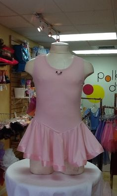 Tank Leotard with Skirt by Ferreira: $26.99. For more information or to check size or availability, call or email Polka Dots. 916-791-4496. polkadotsproshop@gmail.com