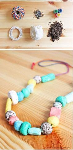 Seed Bomb Necklaces: