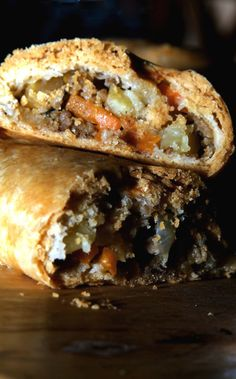 A Week of British Food: Cornish Miners Pasties (for crust see pastry pasty on board) Scottish Recipes, Irish Recipes, Pie Recipes, Cooking Recipes, English Recipes, British Baking Show Recipes, Scottish Dishes, Recipies, Russian Recipes
