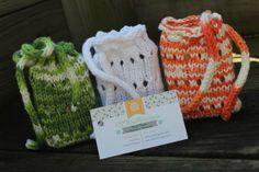 Knitted Soap Socks free pattern! So easy!