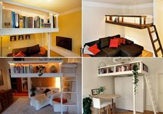 unique design for small apartments #home #apartment #room