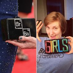 Did Lena Dunham's Clutch Just One-Up Breaking Bad Fans?