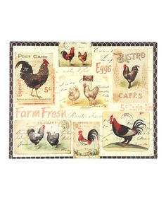 Look at this #zulilyfind! Rooster Farm Cutting Board #zulilyfinds