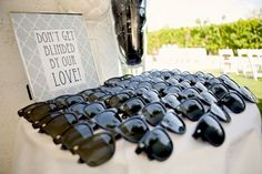 destination wedding favors - again, not getting married again, vow renewal would be cool.