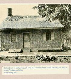 The residence of Georgia Wade McClellan, sister of Jennie Wade
