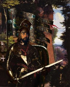 "Paintings of the Arthurian legends by Howard David Johnson ""Sir Gawain"" follow link to see the legends and paintings of Arthurian times"
