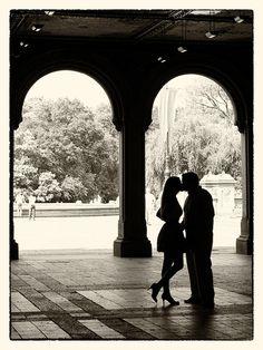 Romantic Central Park | romance in central park