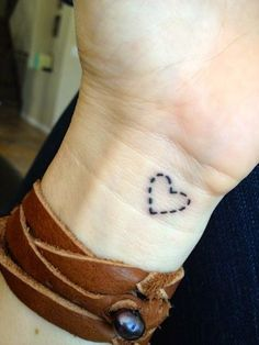love tattoo on wrist - Google Search