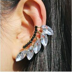 brand new jewelry LEAF ear cuffs piercings fashion earings.