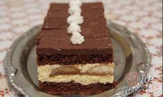Recept Vynikající piškotové řezy No Bake Cake, Vanilla Cake, Nutella, Tiramisu, Deserts, Food And Drink, Sweets, Cookies, Baking