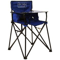 Ciao Baby ciao! baby Portable High Chair (Blue)