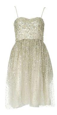 White dress for bridesmaid