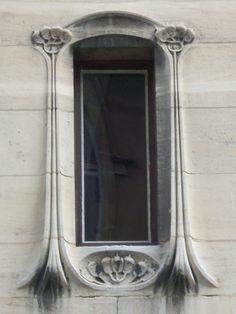 Art Nouveau detail, Maison Bergeret (1903)