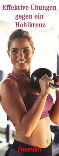 Ein Hohlkreuz bezeichnet eine Fehlhaltung der Lendenwirbelsäule, die teils starke Schmerzen verursachen kann. Doch manchmal helfen schon einfache Rückengymnastik-Übungen, um der fehlerhaften Körperhaltung entgegenzuwirken