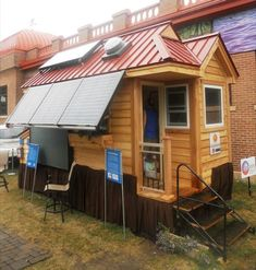 tiny solar house 1   Tiny Solar House: Minnesota Renewable Energy Society